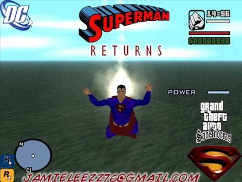 Loquendo-Como instalar modo superman en GTA San Andreas y como se maneja
