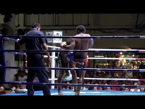 TKO via knees: Ngoo Tiger Muay Thai vs Dew Banchamek @ Patong Stadium 18/11/2013 Image 1