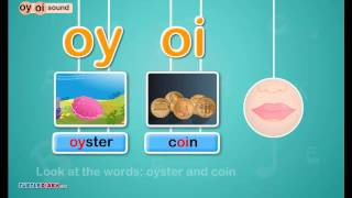 Digraph /oy, oi/ Sound - Phonics by TurtleDiary