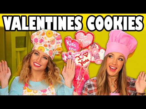 Valentine's Day Cookie Bouquet with Margeaux and Lindsey. Totally TV