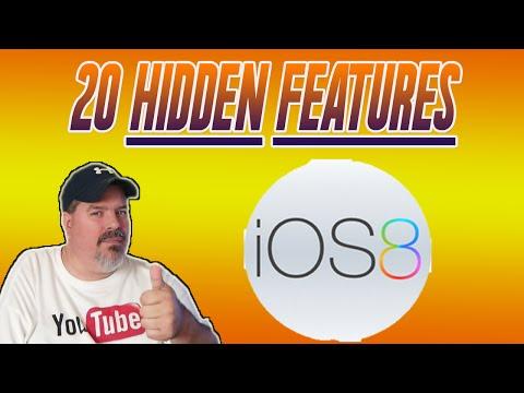 20 Hidden iOS 8 Features iPhone 6/5/5S/4S, iPad Mini