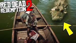 NO WAY?! - I Fed Human to an Alligator & It TAMED! - Red Dead Redemption 2