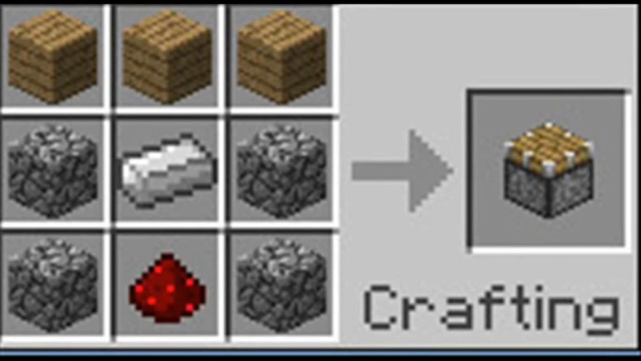 Как сделать железный забор в minecraft
