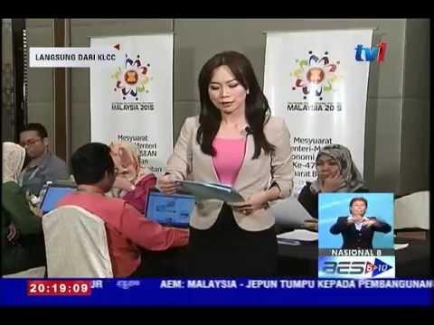 LAPORAN MESYUARAT MENTERI-MENTERI EKONOMI ASEAN KE-47 8 PM [23 OGOS 2015]