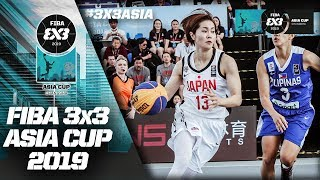 Philippines fought hard against Japan | Women's Full Game | FIBA 3x3 Asia Cup 2019
