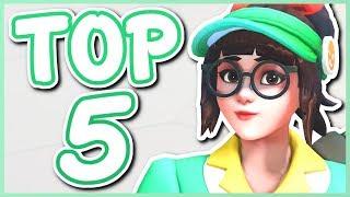 Overwatch - MY TOP 5 FAVORITE HEROES