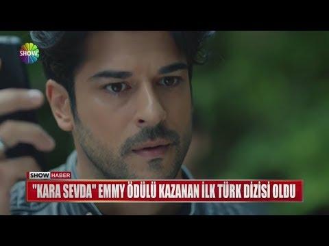 """""""Kara Sevda"""" Emmy ödülü alan ilk Türk dizisi oldu"""
