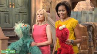Sesame Street: Behind the Scenes of PSA shoot