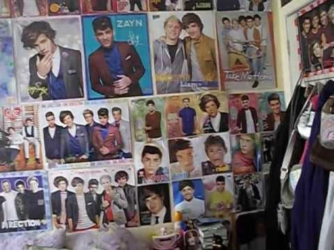 My One Direction Room Tour as of May 2013