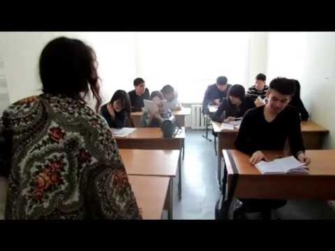 Один день из жизни студента КГУ им. А. Байтурсынова
