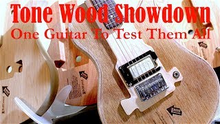 Tone Wood Tester: One guitar to test them all