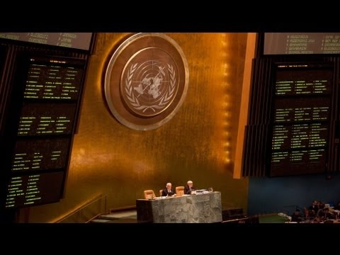 UN General Assembly backs Arab League Syria plan