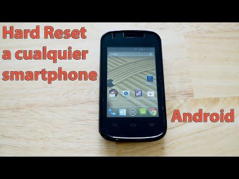 Como formatear reiniciar hard reset cualquier Android