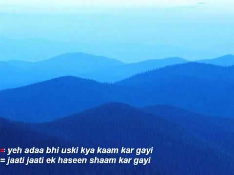hawa hawa hindi karaoke wmv   YouTube