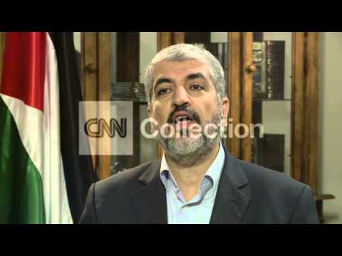 HAMAS LEADER ON CEASE-FIRE KIDNAPPED SOLDIER