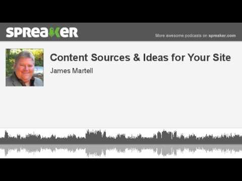 Download Content Sources & Ideas for Your Site
