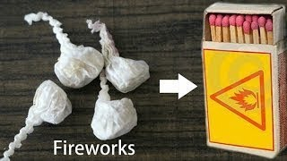 How to make pop-it(candy) firework at home this diwali.