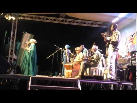 Mwanate Kibwanalive with LELELE AFRICA @ the 2015 Mombasa International Cultural Festival  Song; JIC