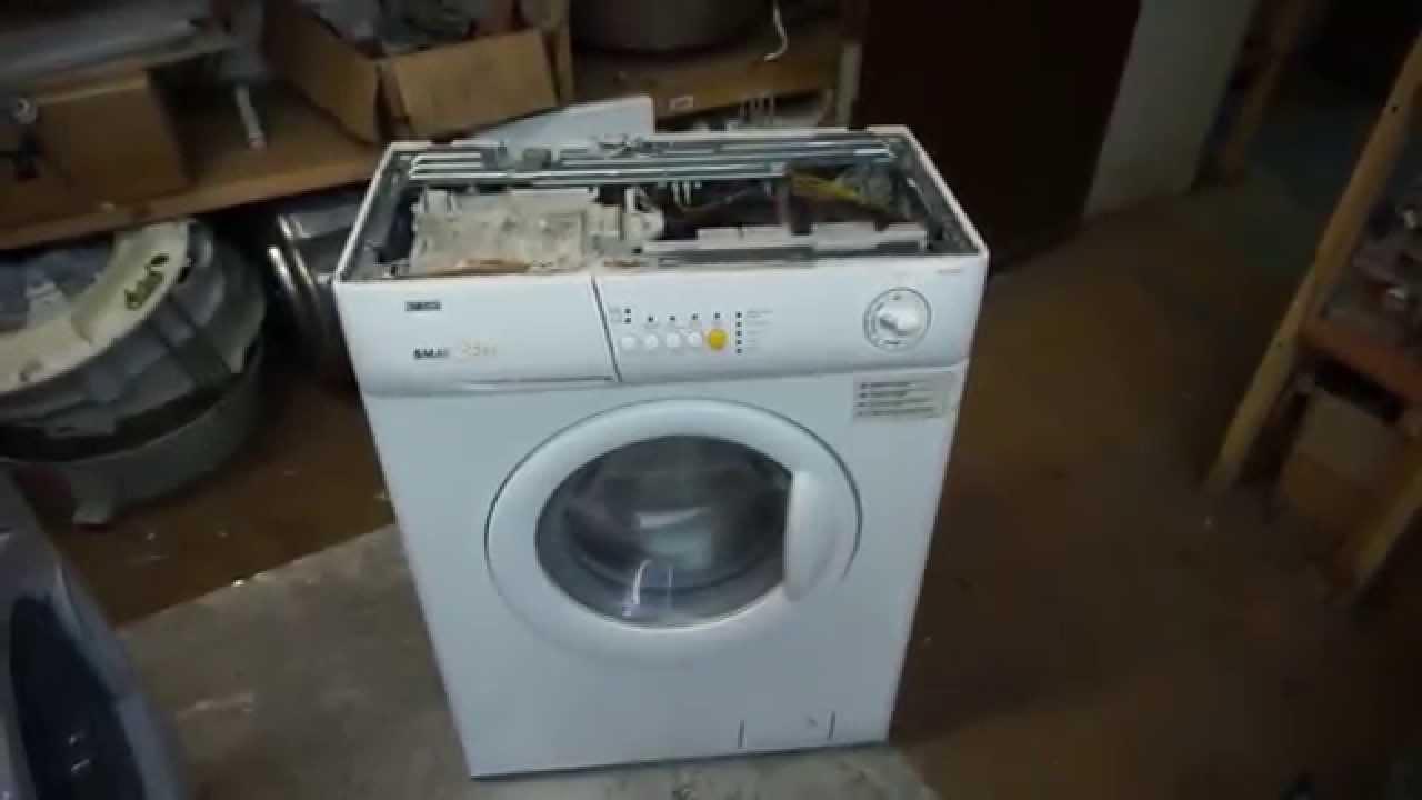 Ремонт стиральных машин занусси своими руками
