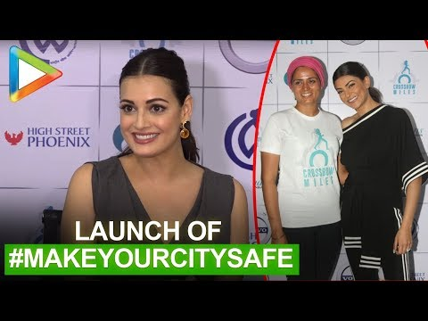 Sushmita Sen & Dia Mirza at Srishti Bakshi night walk for #MakeYourCitySafe campaign | part 2