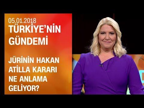 Jürinin Hakan Atilla kararı ne anlama geliyor? - Türkiye'nin Gündemi 05.01.2018 Cuma