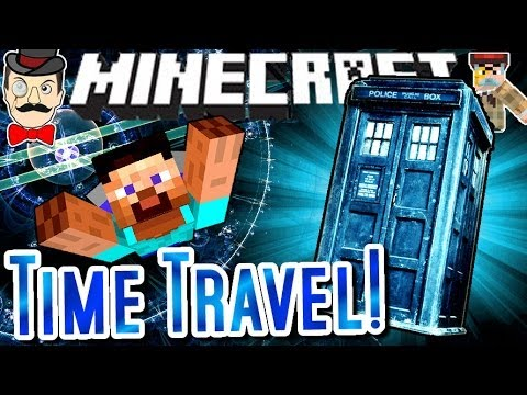 Minecraft TIME TRAVEL Redstone Creation! Working TARDIS!