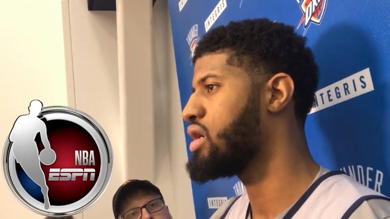 Paul George on Thunder teammate Russell Westbrook: 'He's a team-first guy' | ESPN