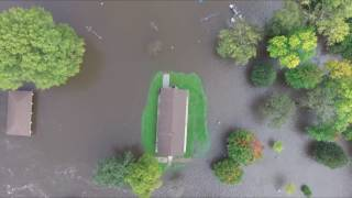 Mason City, Iowa.  Flood of 2016