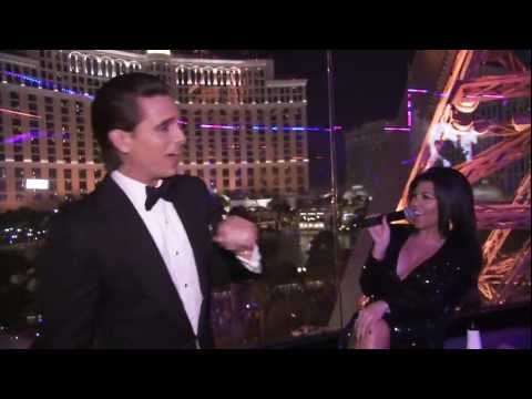 Kourtney Kardashian Holly Madison Sugar Factory Chateau Vegas NYE 2012