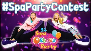 Win an Orbeez ULTIMATE Soothing Spa Party In Your Home!   Official Orbeez