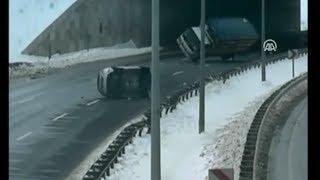 Buzlu yolda nasıl kaza yapılır?