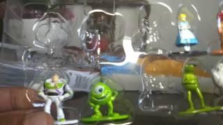 Disney Pixar Nano Metalfigs Unboxing