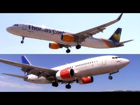Skiathos Airport - Plane Spotting Paradise   TRAILER   Epic Low Landings and Jetblast