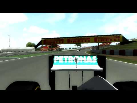 [rF] F1 2014 - Spanish GRAND PRIX   Lewis Hamilton vs Nico Rosberg