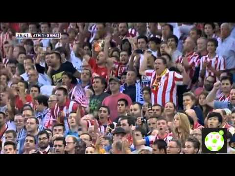 Diego Simeone red card Atletico Madrid vs Real Madrid 1 0 SuperCopa Espana 2014