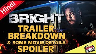Bright Official Trailer Breakdown [Explained In Hindi]