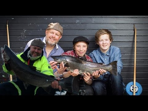 The results of a night with trout fishing was great! We caught one trout on 1,5 kg, and one trout on 6360 kg. (MJ�S TROUT) who is a trout species that lives in Lake Mjøsa. We were out with...