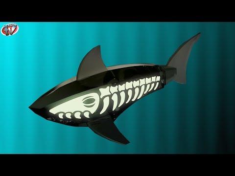 Hexbug Zombie Aquabot Glow In The Dark Smart Fish Toy Review