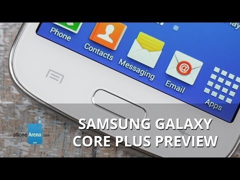 Samsung Galaxy Core Plus Preview