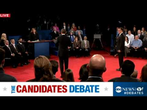Second Presidential Debate 2012: Obama Hits Romney's 'Sketchy Deal'
