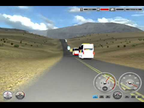 18 WOS HAULIN  indonesia  bus  mod : My Bus Overtake  action