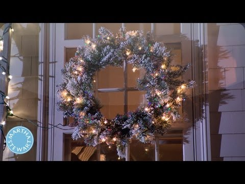 How to Decorate Outdoors for the Holidays - Martha Stewart