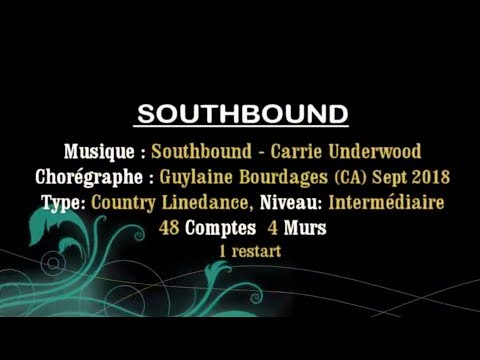 Southbound   Country Line Dance   Tuto Toly