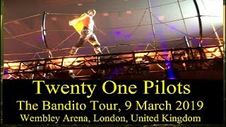 Twenty One Pilots - The Bandito Tour - 9 March 2019 - at Wembley Arena UK