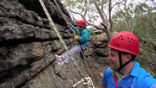 Kids Abseiling School Holidays like Never Before!