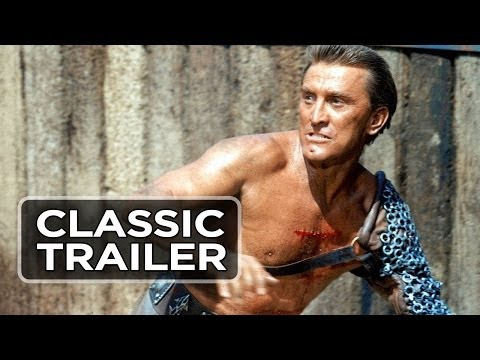 Spartacus Official Trailer #1 - Kirk Douglas, Laurence Olivier Movie (1960) HD
