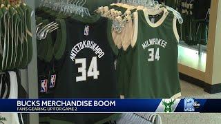 Bucks merchandise sales boom