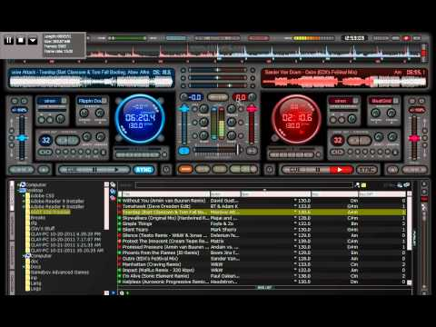 Trance Mix with Virtual DJ (ASOT 530 Cover Mix Part 3)