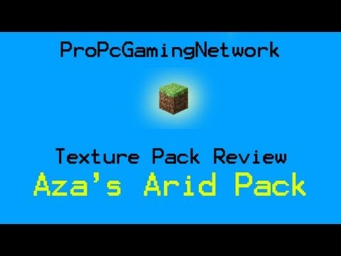 Minecraft Texture Pack Review part 13 - Aza