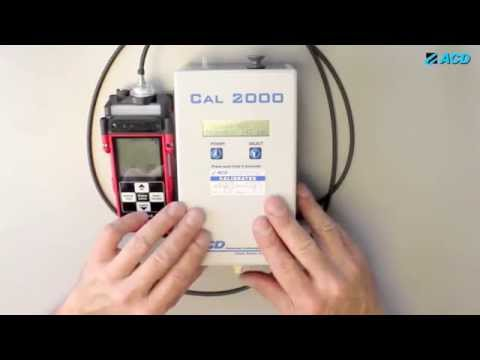 How to Operate the ACD CAL 2000 Calibration Gas Generator